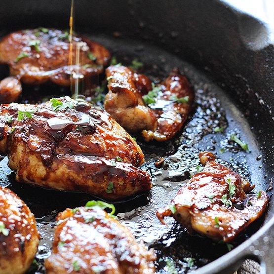 Truffle Honey Glazed Chicken